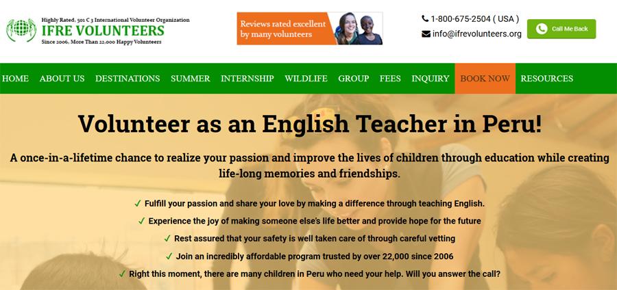 ifre teaching peru