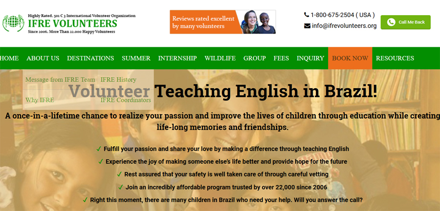 ifre teaching project brazil