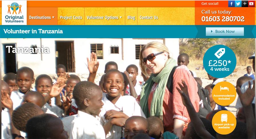 teaching student in tanzania