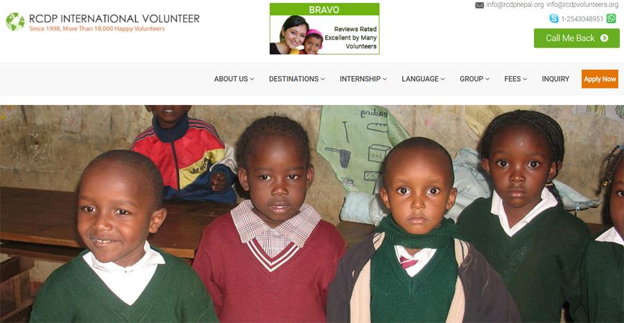 teching african kids