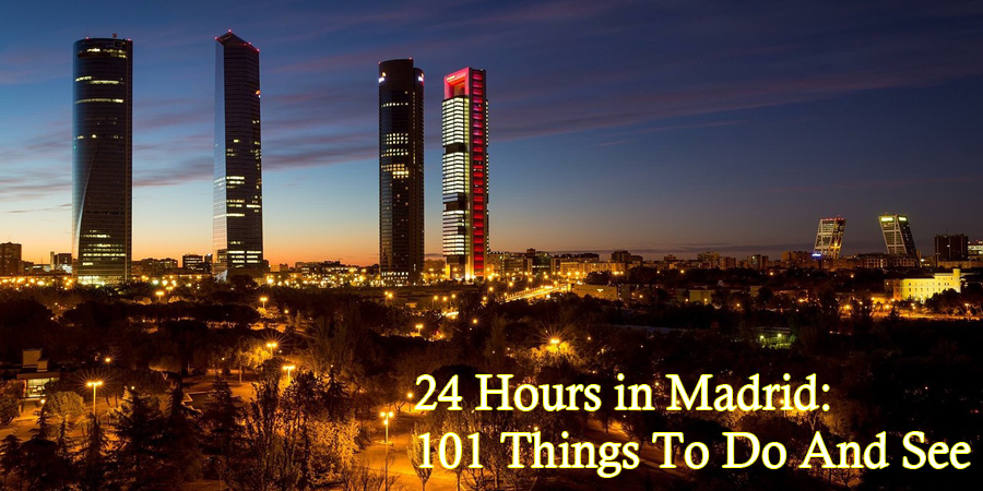24 hour in madrid