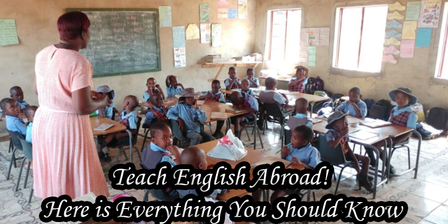 teaching english in africa