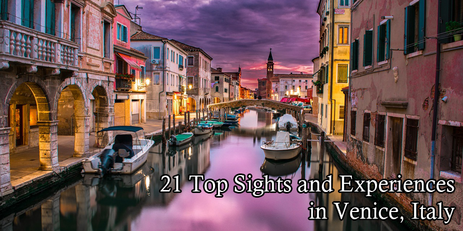 top Sights and Experiences in Venice