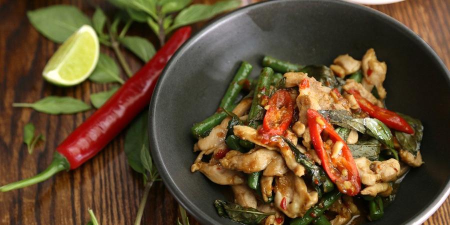 street thai food